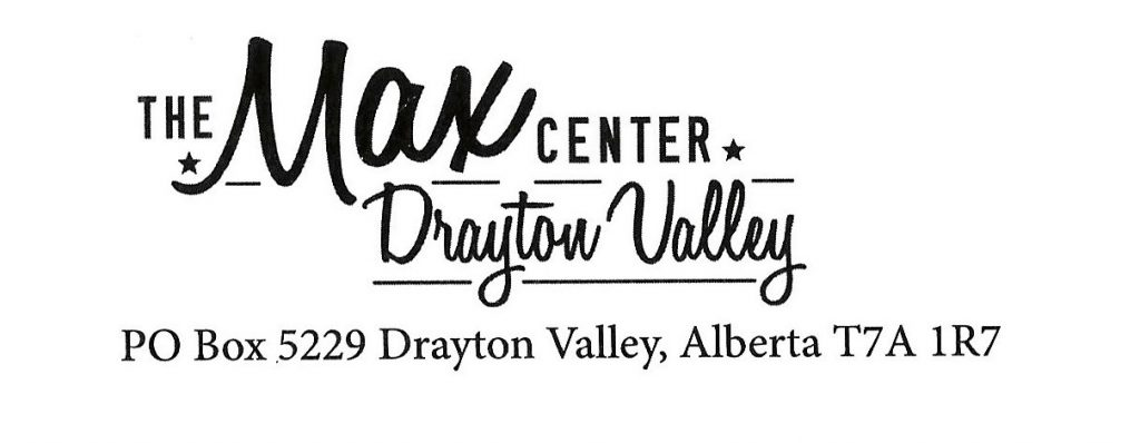 The Max Center Special Events Facility Drayton Valley Alberta