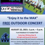 FREE Outdoor Community Concert